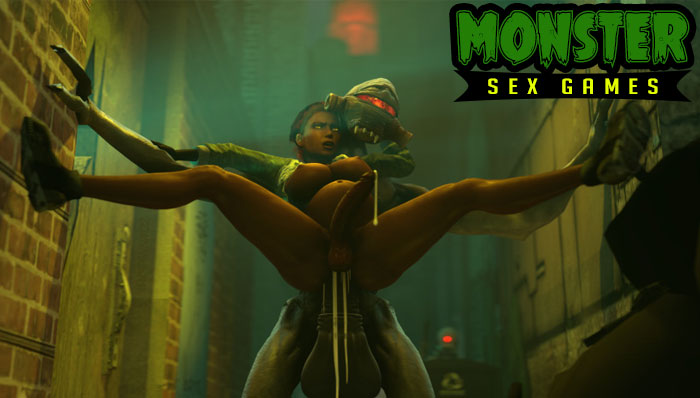 Free monster sex games